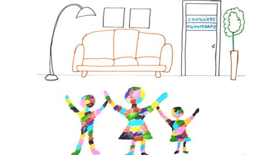 sustine nevoia copilului de a vorbi cu un terapeut